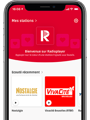 Radioplayer sur iPhone 6.5