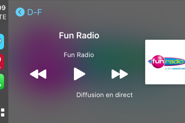Fun Radio Carplay
